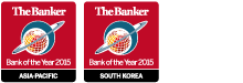 Bank of the Year 2015 - Asia Pacific